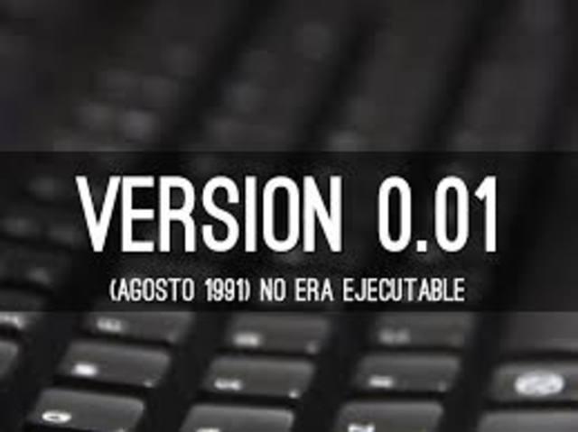 version 0.01 de linux