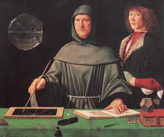 Ilmus Veneetsias matemaatikust frantsiskaani munga Luca Pacioli esimene arvestusalane teos