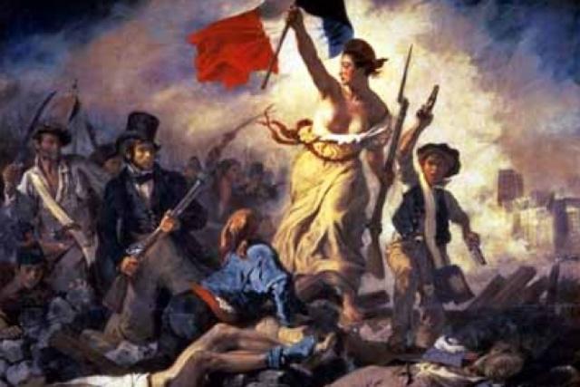 Start of the French revolution
