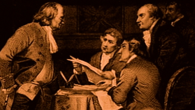 Signing of the independence