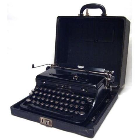 Máquinas de escribir portátiles