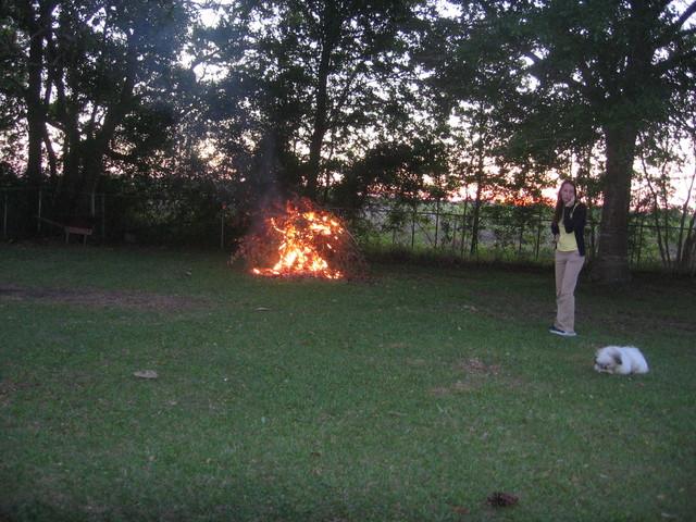 Day 2 Backyard Bonfire