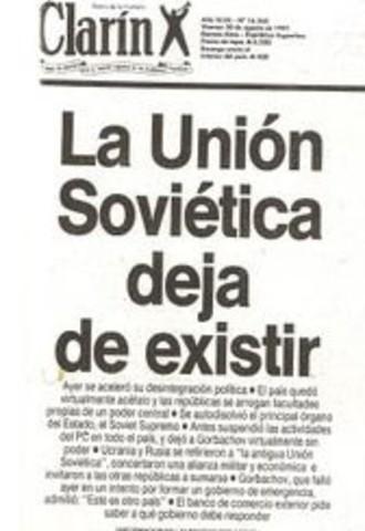 LA DESINTEGRACIÓ DE LA URSS (1985-1991)