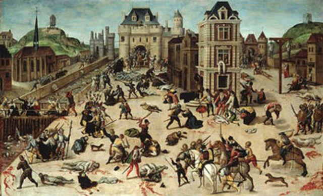 HISTOIRE : Le massacre de la Saint Barthelemy