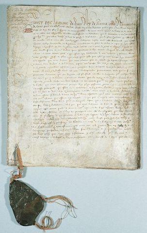 HISTOIRE : L'édit de Nantes