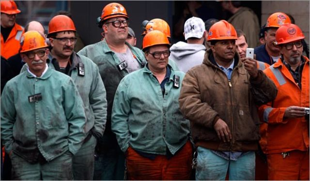 The term Blue Collar is used