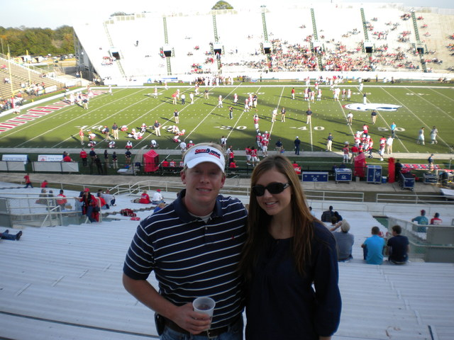 South Alabama's First Football Game