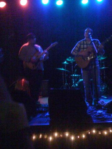 Local concert at local bar
