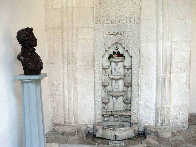 Поездка в Бахчисарай:написание поэмы «Бахчисарайский фонтан»