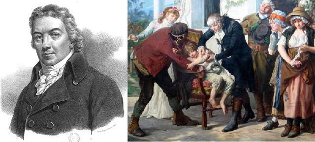 Edward Jenner:CREA VACUNA CONTRA LA VIRUELA