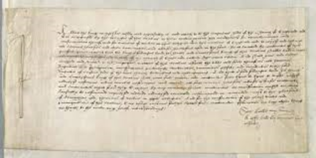 The Supremacy Act, Henry VIII proclaims himself head of Church of England