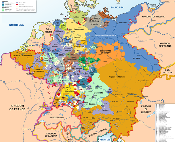 Holy Roman Empire was dissolved
