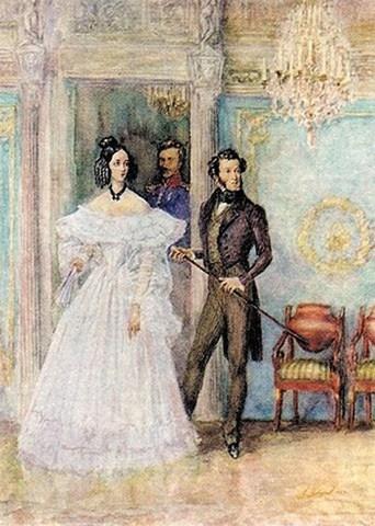 Свадьба А.С.Пушкина и Н.Н.Гончаровой