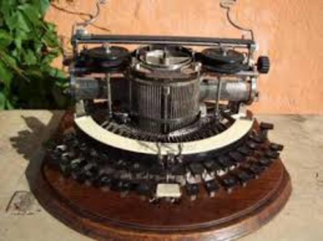 Segundo intento de la máquina de escribir