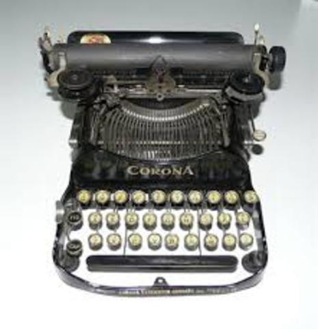 Máquina de escribir francesa