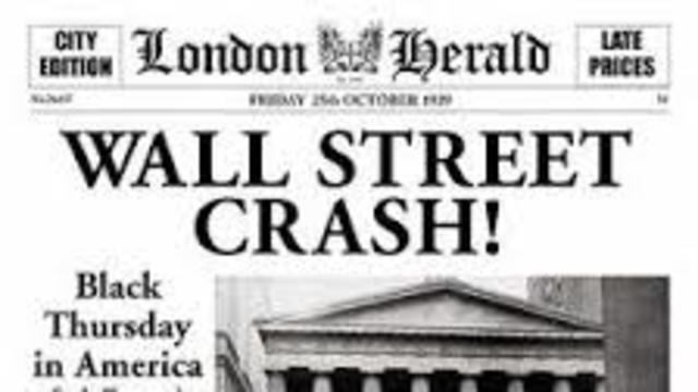 Die Wirtschaftskrise 1929