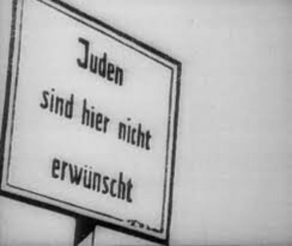 Die Verfolgung der Juden