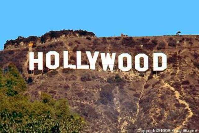 Area called Hollywood
