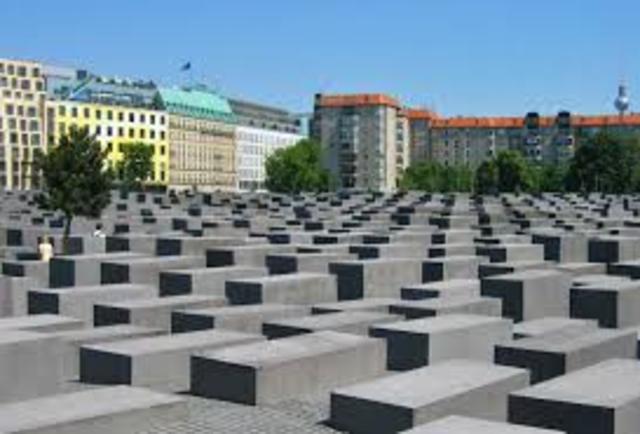 Ein Denkmal in Berlin