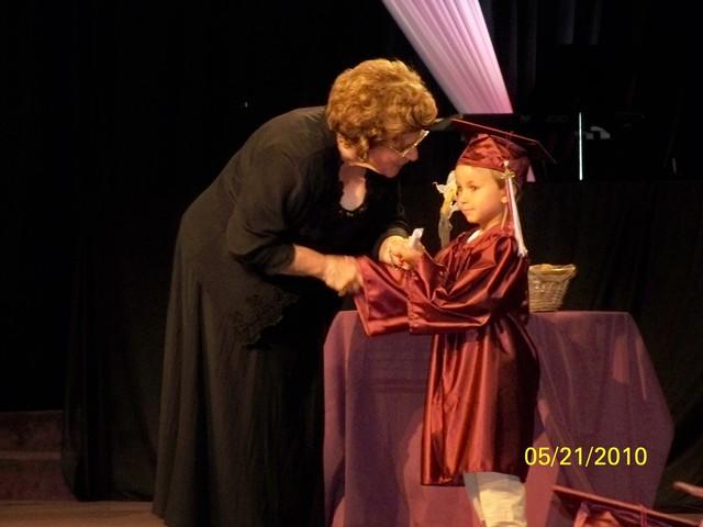Jace's K-5 graduation