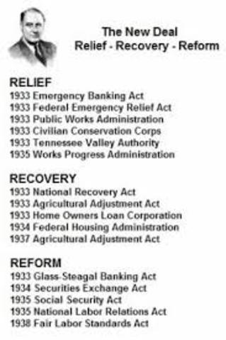 """""""Relief, Recovery, Reform"""