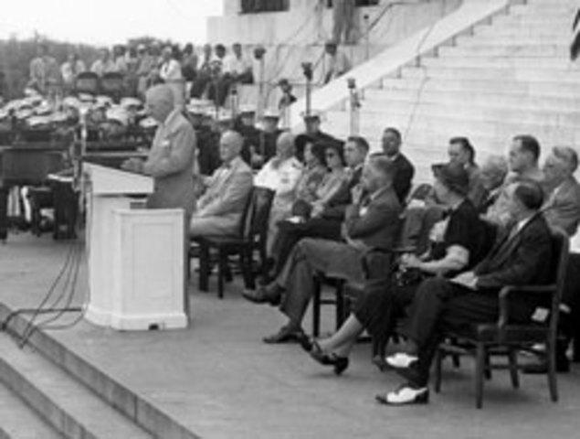 Harry Truman addresses NAACP