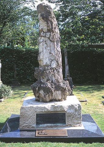 Died in Broadstone, England.