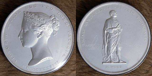 Awarded Royal Medal