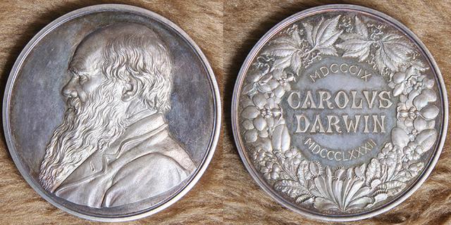 First Recipient of Royal Society Darwin Medal