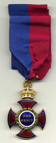Awarded Order of Merit