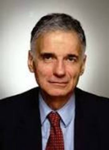 Ralph Naders Becomes President