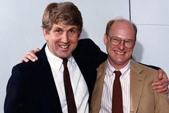 """Robert Melancton """"Bob"""" Metcalfe and David Boggs"""