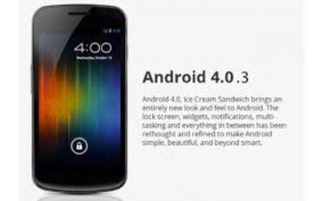 Android 4.0.3 icecream