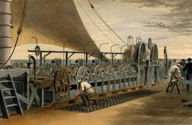Primer cable telegráfico transatlántico