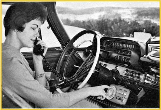 Sistema comercial de telefonía móvil vehicular