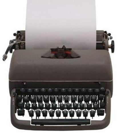 Primera máquina de escribir