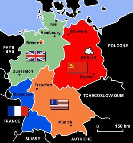 Partage de l'Allemagne
