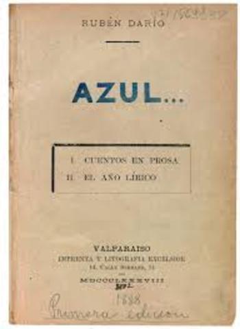 AZUL- Rubén Darío.
