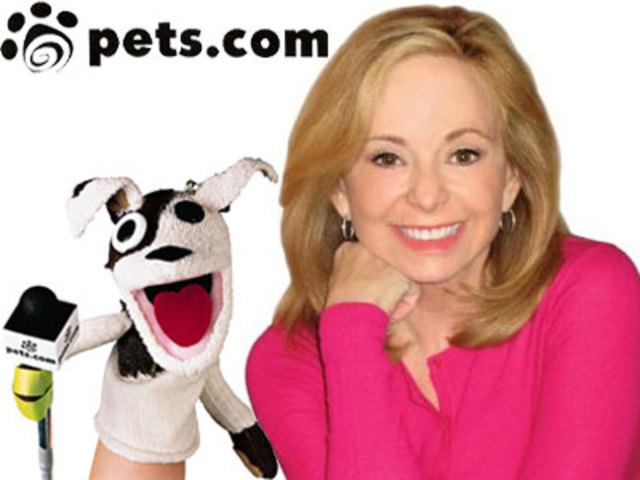 Pets.com lauched by Julie Wainwright
