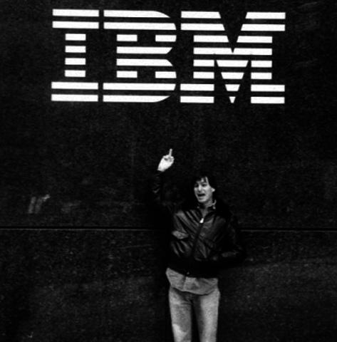 IBM made their Apple Inc Rival