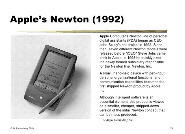 PDA - Apple's Newton