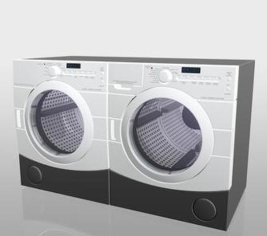 Environmentally friendly washers and dryers