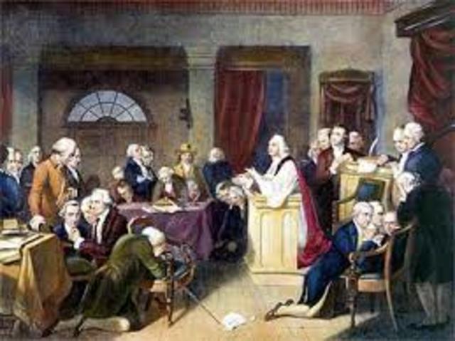 1st Continental Congress Established