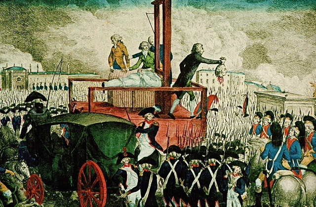 King Louis XIV Executed