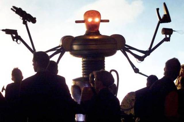 Första robotarna