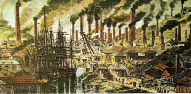 edad moderna( revolucion industrial)