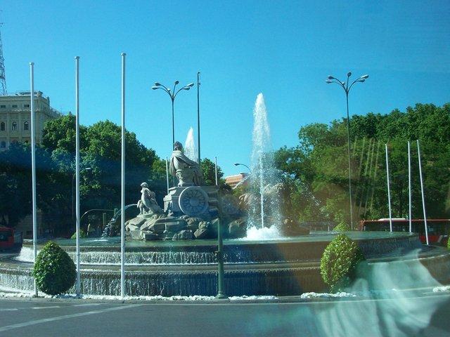 Bus Tour around Madrid, Spain