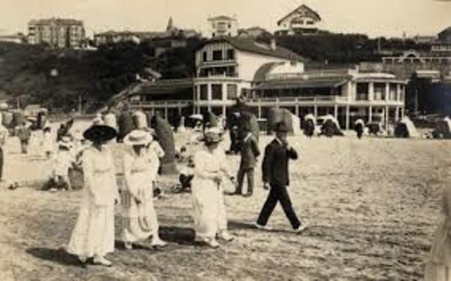 siglo xx etapa de los lugares turisticos