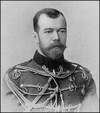 Nicholas II becomes Czar of Russia  (part 1)