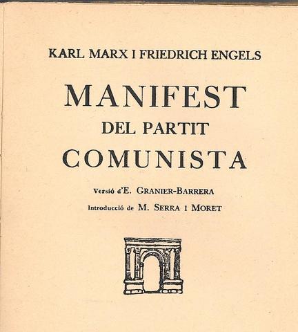 """Karl Marx publica """"El manifiesto comunista"""""""